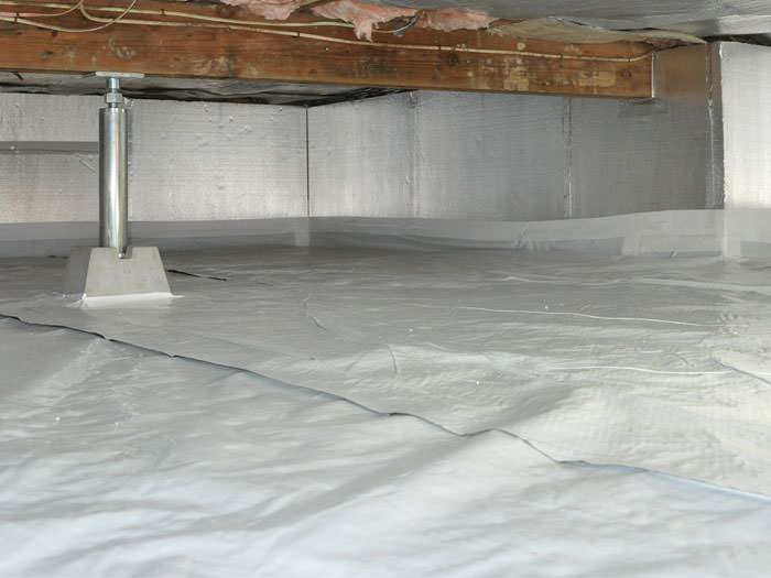 Installed Crawl E Insulation In Buena Vista