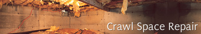 Crawl Space Repair in CO, including Steamboat Springs, Breckenridge & Vail.