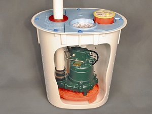 Crawl E Sump Pump